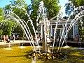 "350. Peterhof. Fountain ""Adam"" in the Lower Park.jpg"