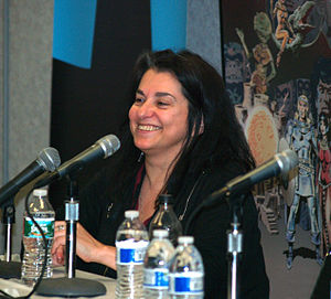 Ann Nocenti - Nocenti at the 2015 East Coast Comicon in Secaucus, New Jersey