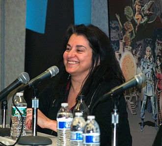 Ann Nocenti - Nocenti at the 2015 East Coast Comicon in Secaucus, New Jersey