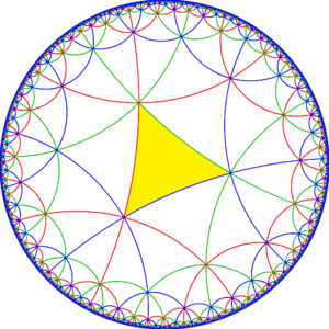 Order-8 triangular tiling - Image: 444 symmetry mirrors