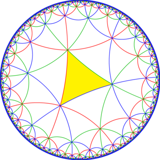 Order-8 triangular tiling - Image: 444 symmetry mirrors