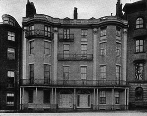 Headquarters House (Boston) - The house in a photo published in 1912