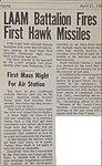 5th LAAM - 19670421 - LAAM Bn Fires First HAWK Missiles - MCAS Yuma Cactus Comet.jpg