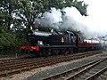 6619 from the North Yorkshire Moors Railway leaving Sheringham - geograph.org.uk - 1479887.jpg