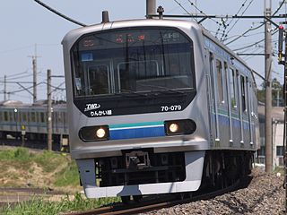 TWR 70-000 series Japanese train type
