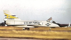 Loring Air Force Base - F-106A of 83d FIS at Loring in 1972