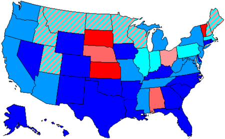 United States House Of Representatives Elections 1964 Wikipedia
