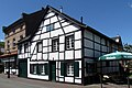 Half-timbered gabled house