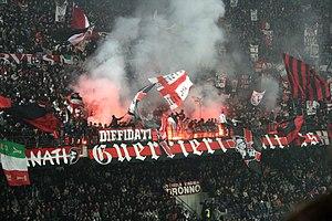 San Siro - Image: AC Milanultras 2006curvasud