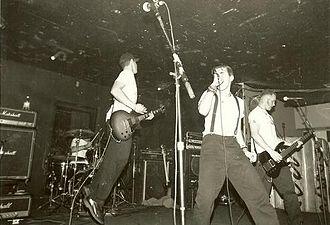 AFI (band) - AFI performing in November 1995 at Berkeley Square.
