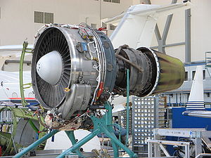 Lycoming ALF 502 - ALF 502 removed from a Bombardier Challenger 600-1A11