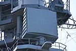 AN SPQ-9B radar on board mast of JS Atago(DDG-177) right front view at JMSDF Maizuru Naval Base April 13, 2019 02.jpg