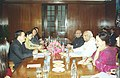 A Five members Delegation of the Vietnam Parliamentarian Friendship called on the Speaker, Lok Sabha Shri Somnath Chatterjee in New Delhi on December 14, 2004.jpg