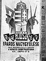 A KIOSZ iparos nagygyűlése. Plakát, 1943 Fortepan 72619.jpg