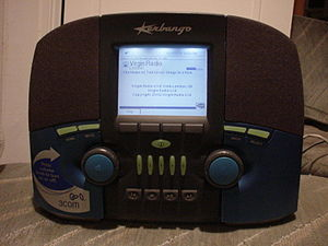 The first internet radio. Photographed in 2002...