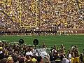 A Michigan Team Being Honored, Michigan Stadium, University of Michigan, Ann Arbor, Michigan (21745741755).jpg