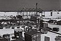 A NEW FACTORY UNDER CONSTRUCTION IN THE HAIFA BAY AREA. תעשייה. בצילום, בניית מפעל באזור מפרץ חיפה.D834-025.jpg