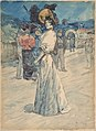 A Parisienne Outside the Moulin de la Galette MET DP808374.jpg
