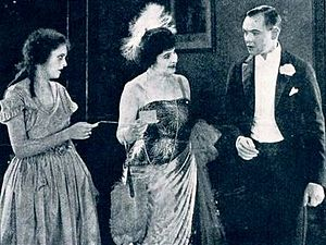 Irene (costume designer) - Irene Lentz, Edythe Chapman, and Charles Ray in A Tailor-Made Man (1922)