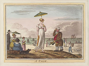 Calmness - Image: A calm by James Gillray