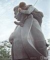 A finnish soldier gets his revenge on Stalin, Räisälä (Melnikovo), Karelian Isthmus 1941 (39848832963).jpg