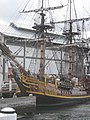 A replica of either Cook's Endeavour or Bligh's Bounty - not labelled - panoramio.jpg