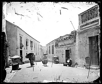 Portuguese Macau - Street in Macau, by John Thomson, c. 1870