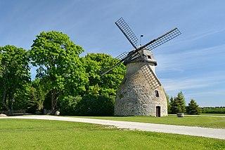 Aaspere Village in Lääne-Viru County, Estonia