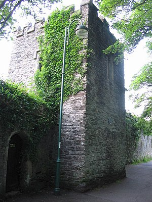 Tavistock Abbey - The abbey still house