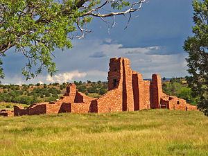 National Register of Historic Places listings in Torrance County, New Mexico - Image: Abo Ruin