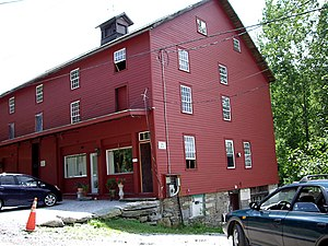 The Abode of the Message - Shaker Barn, the Shaker community's horse barn