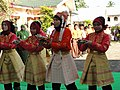 Acehnese girls performing welcoming dance; 2011.jpg