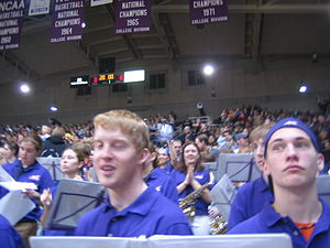 Aces Brass - Aces Brass during UE vs. Purdue, December 3, 2005
