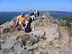 Achtermannshöhe - Summit of the Achtermannshöhe