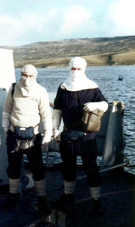 Action stations Falklands 1982
