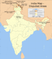 Actual disputed territories map of india.png