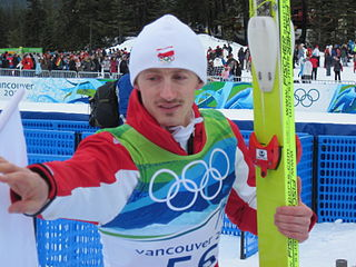 Polish former ski jumper