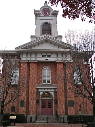 National Register of Historic Places listings in Adams County, Pennsylvania - Image: Adams PA Courthouse 2