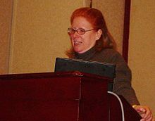 Adele Goldberg at PyCon 2007.jpg