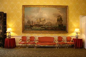 Admiralty House, London - The interior of Admiralty House is decorated in its original style. Depicted is the Music Room.