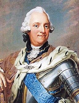 Adolph Frederick of Sweden c 1751 by Gustaf Lundberg & Jakob Björck