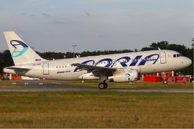Adria Airways Airbus A319 KvW.jpg
