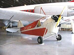 Aeronca Aircraft - Aeronca C-2 registered CF-AOR in the Canada Aviation Museum, Rockcliffe (Ottawa) Ontario, 2006