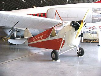 Aeronca Aircraft - Aeronca C-2 registered CF-AOR in the Canada Aviation Museum, Rockcliffe (Ottawa) Ontario, 2006