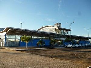 Zona da Mata Regional Airport - Image: Aeroporto Regional da Zona da Mata