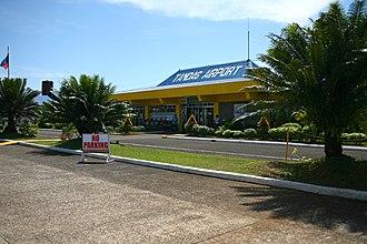 Surigao del Sur - Tandag Airport