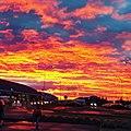 Aeropuerto Carlos Ibáñez del Campo amanecer.jpg