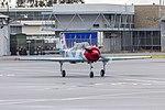 Aerostar Yak-52W (VH-YVK) taxiing at Wagga Wagga Airport.jpg