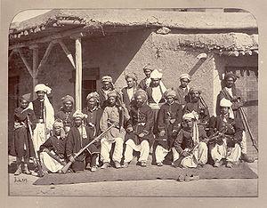 Afghan National Police - Afghan police (c. 1879)