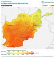 Afghanistan GHI Solar-resource-map GlobalSolarAtlas World-Bank-Esmap-Solargis.png